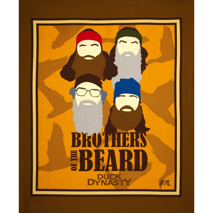 Duck Dynasty Brothers of the Beard Panel Multi