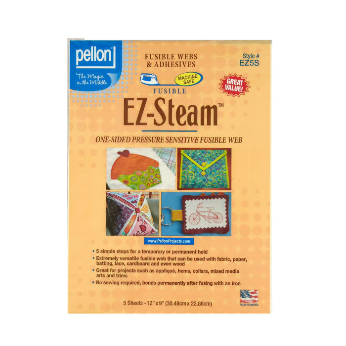 EZ-Steam Sheets One-Sided Sticky Back Fusible Web