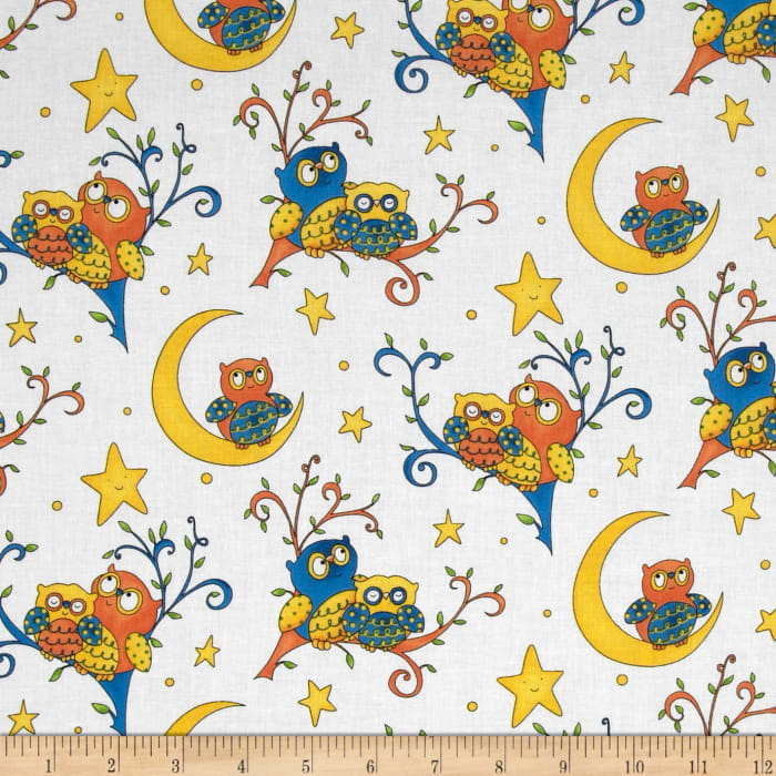 Rhyme Time Owls White