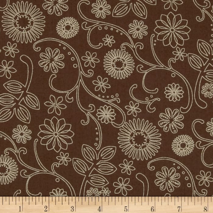 """110"""" Wide Quilt Back Signature Brown"""