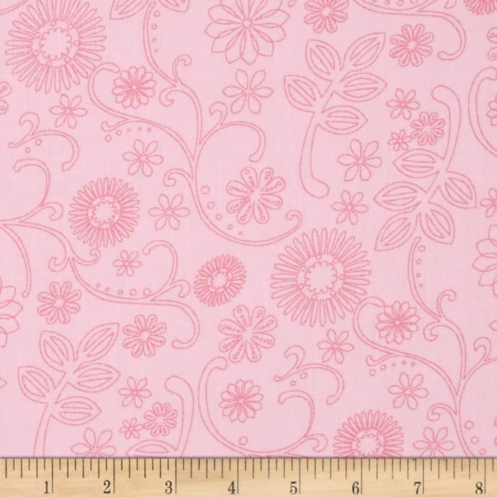 "110"" Wide Quilt Back Signature Pink"