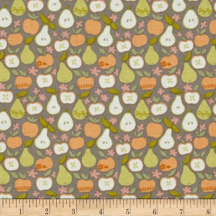 Clementine In the Orchard Taupe