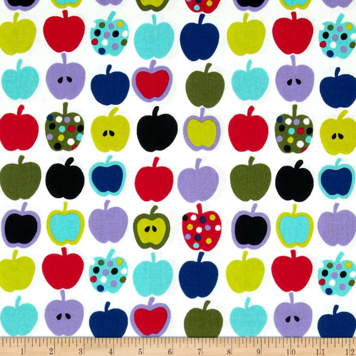 Mecca for Moderns Pippin  Apples Natural/Turquoise