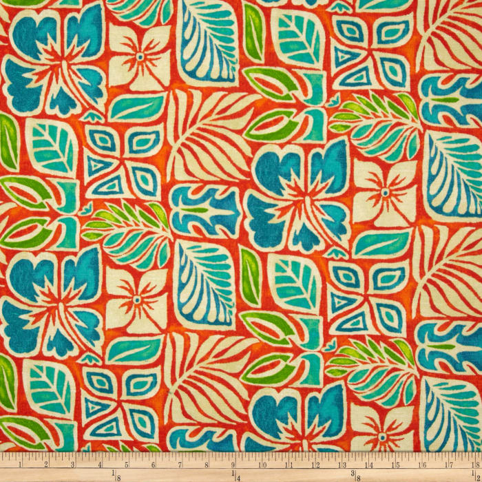 Tommy Bahama Home Sun Blocks Coral Reef