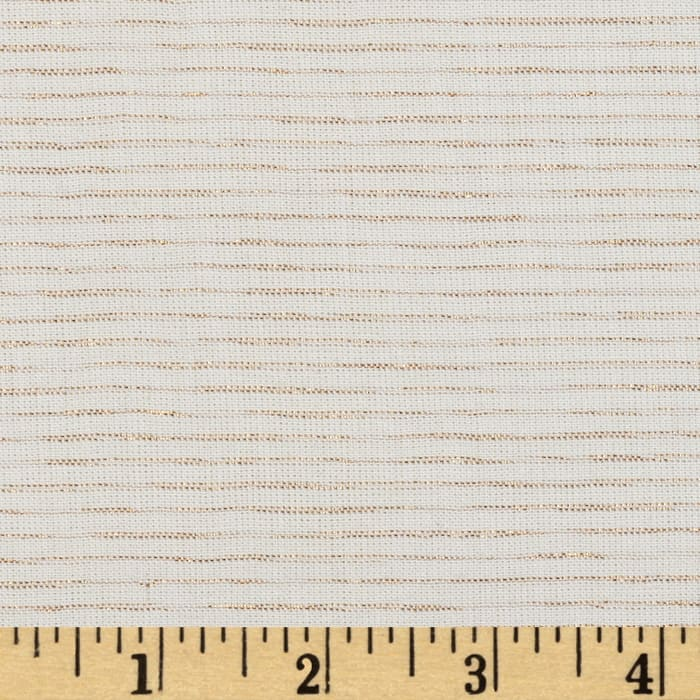 Andover Chambray Mylar White Gold