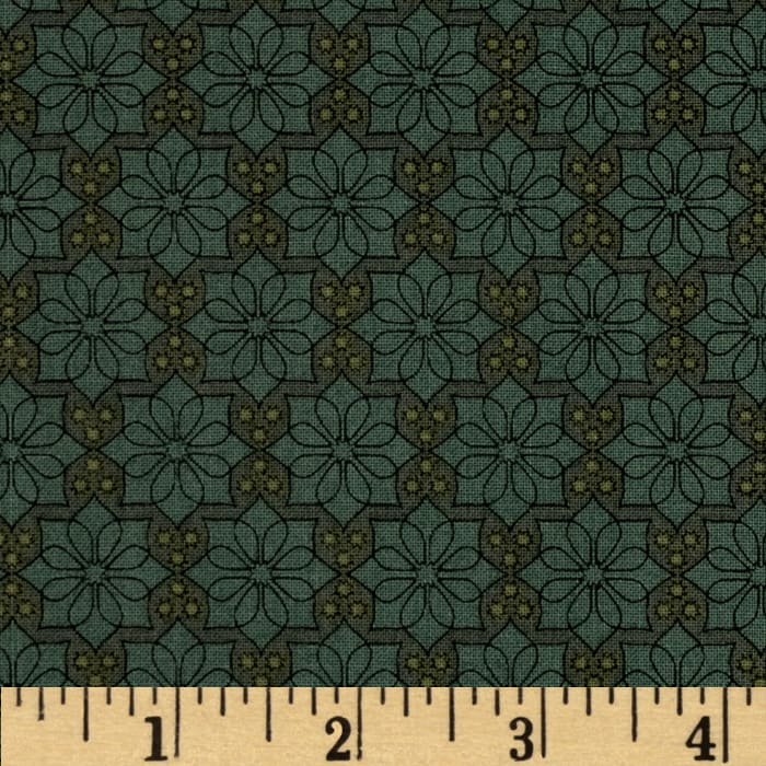 The Color Collection Daisy Plaid Green