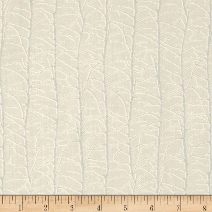 Bare Branches Metallic Small Trees Ivory