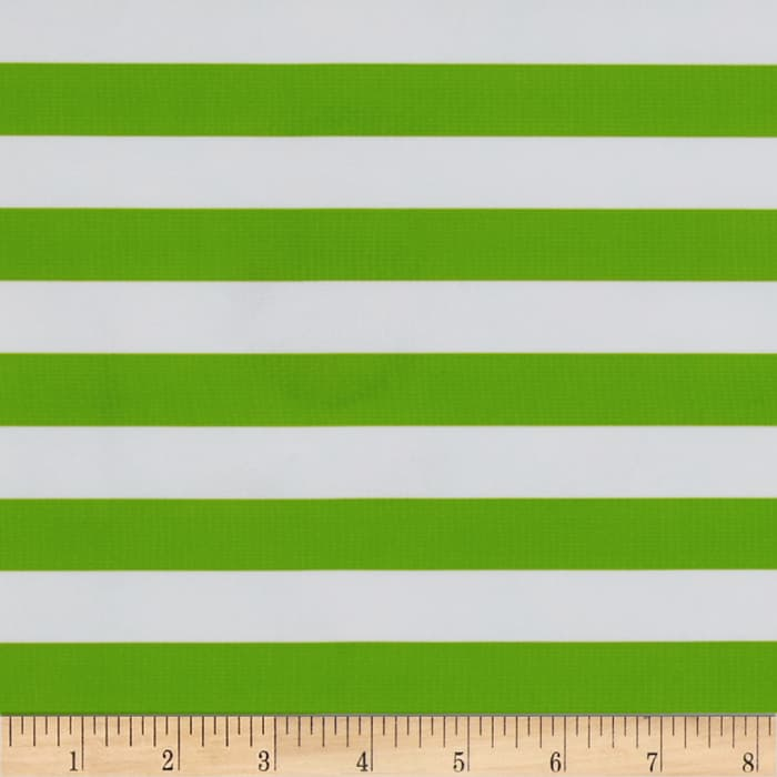 Oilcloth Stripes Green