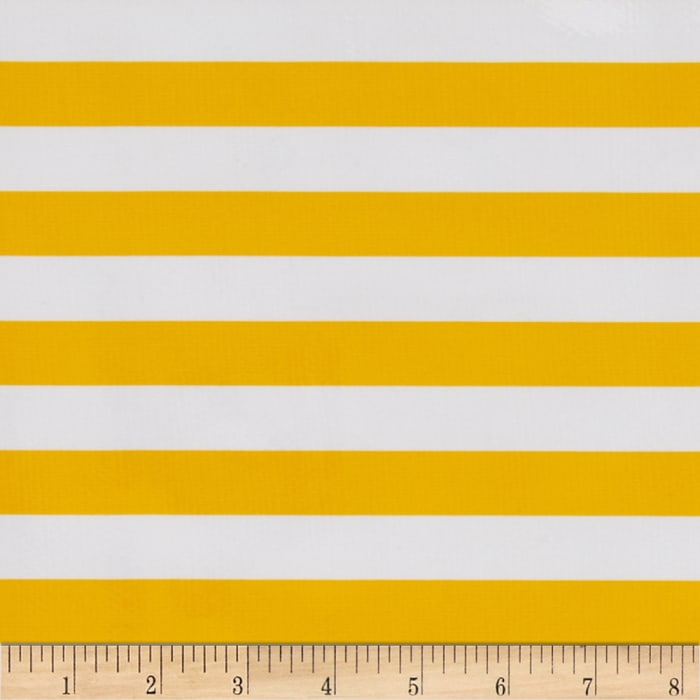 Oilcloth Stripes Yellow