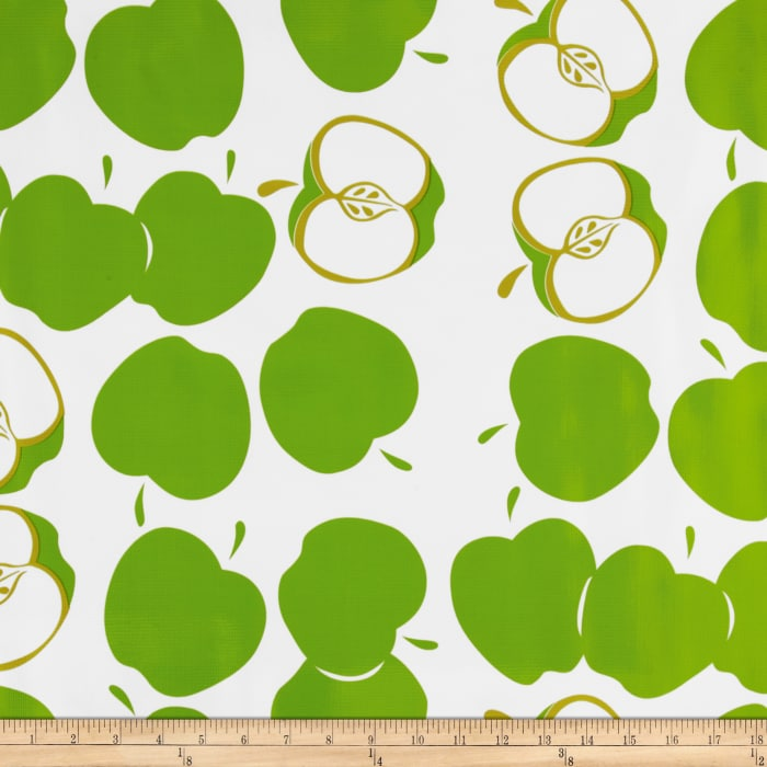 Oilcloth Solvang Lime
