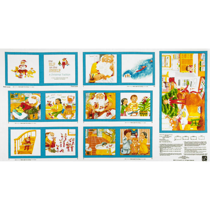 More Elf On The Shelf Book Panel Multi Discount Designer