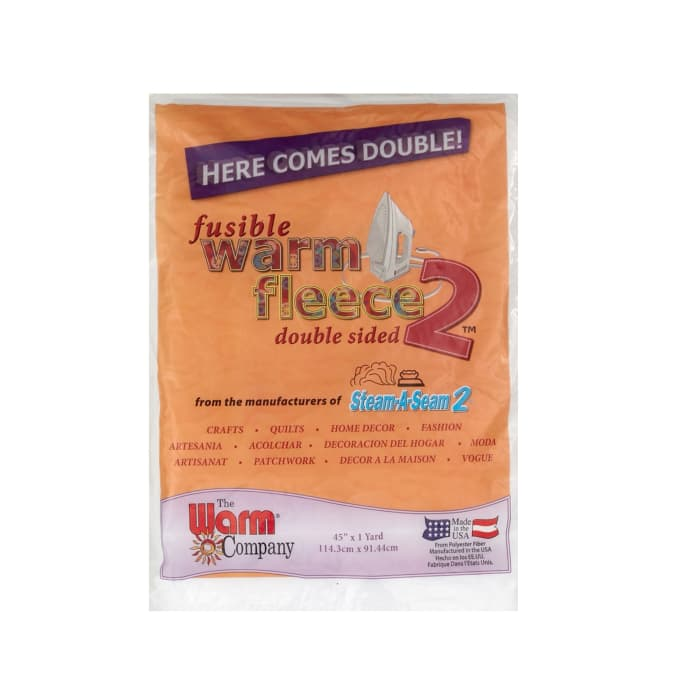 Warm Fleece 2 Fusible Batting 45