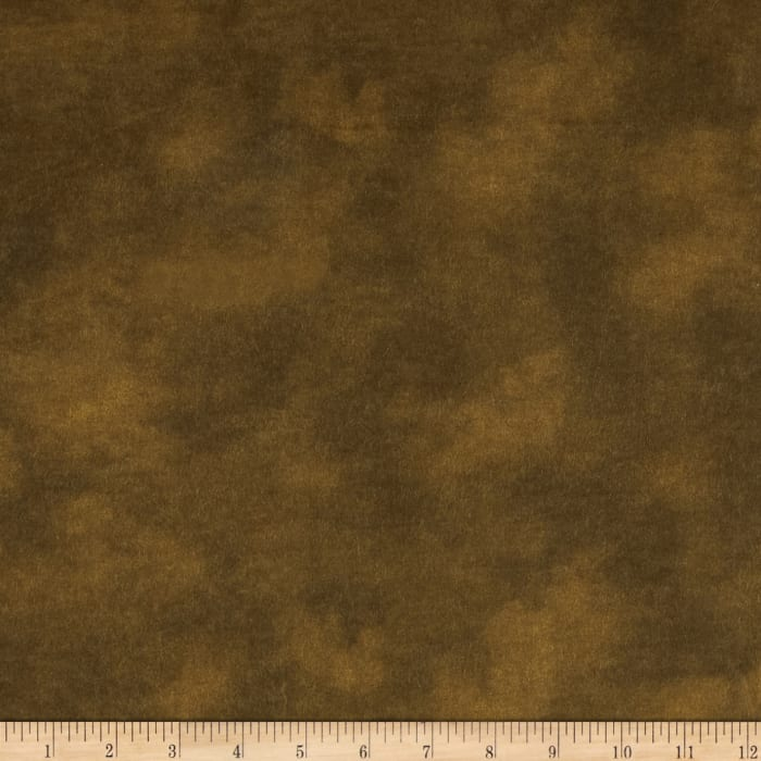 """108"""" Wide Flannel Mottled Chocolate"""