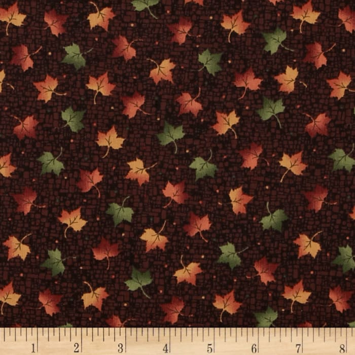 Harvest Song Leaf Dot Russet