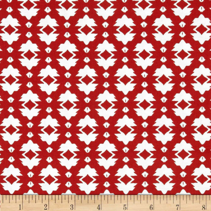 Tina Givens Riddles and Rhymes Foulard Red