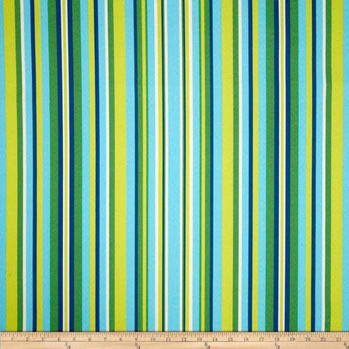 Terrasol Indoor/Outdoor Hombre Stripe Azure