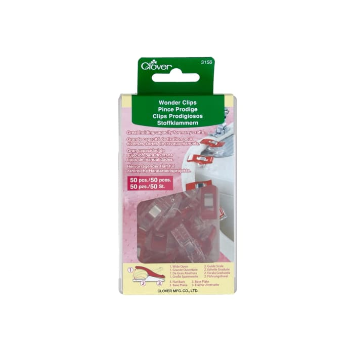 Clover Wonder Clips Pkg of 50