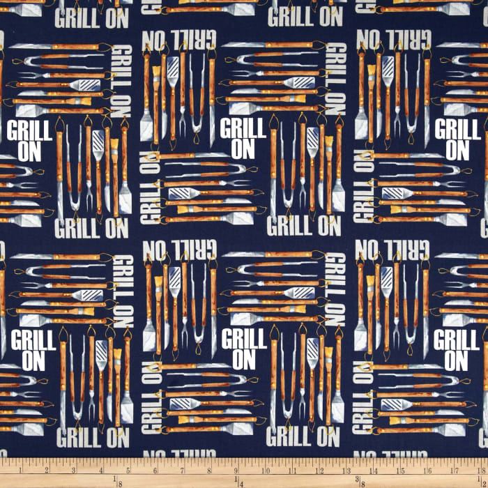 Grill On Tools Blue
