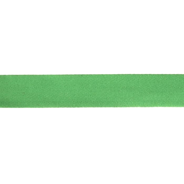 "Cotton Twill Tape Roll 1"" x 55 Yards Green"