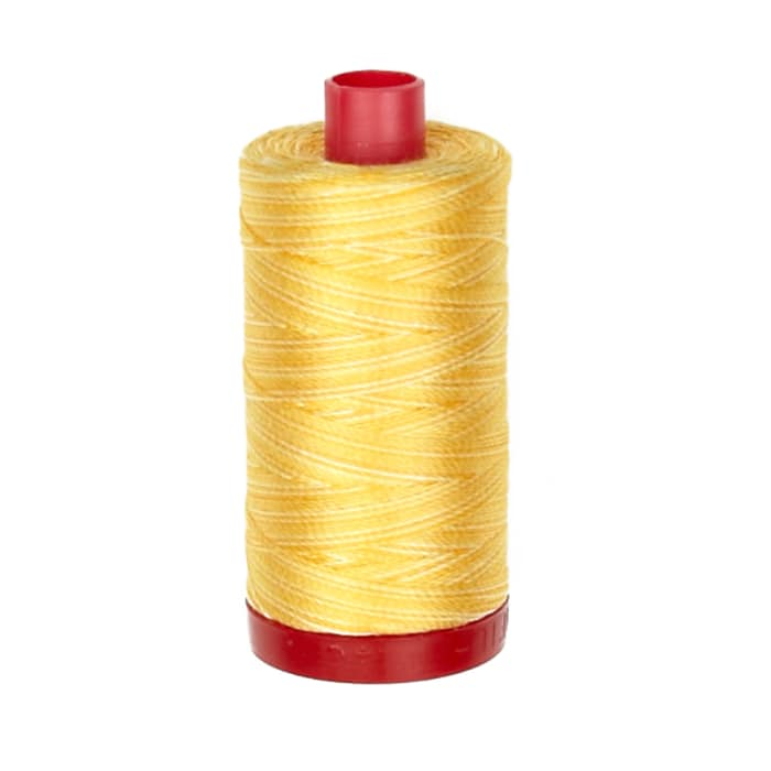 Aurifil 12wt Embellishment and Sashiko Dreams Thread Golden Glow