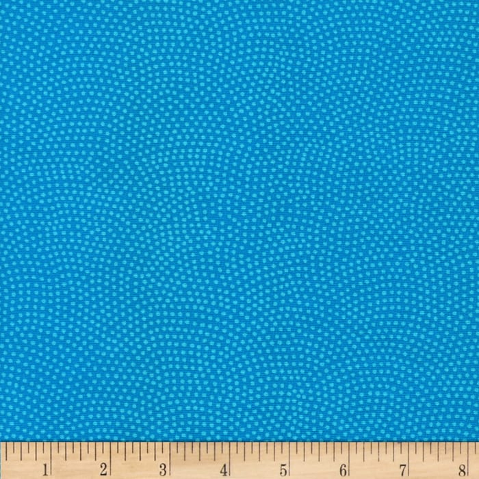 Timeless Treasures Dream Dots Turquoise