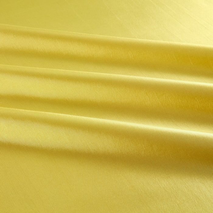 Two Tone Taffeta Light Yellow