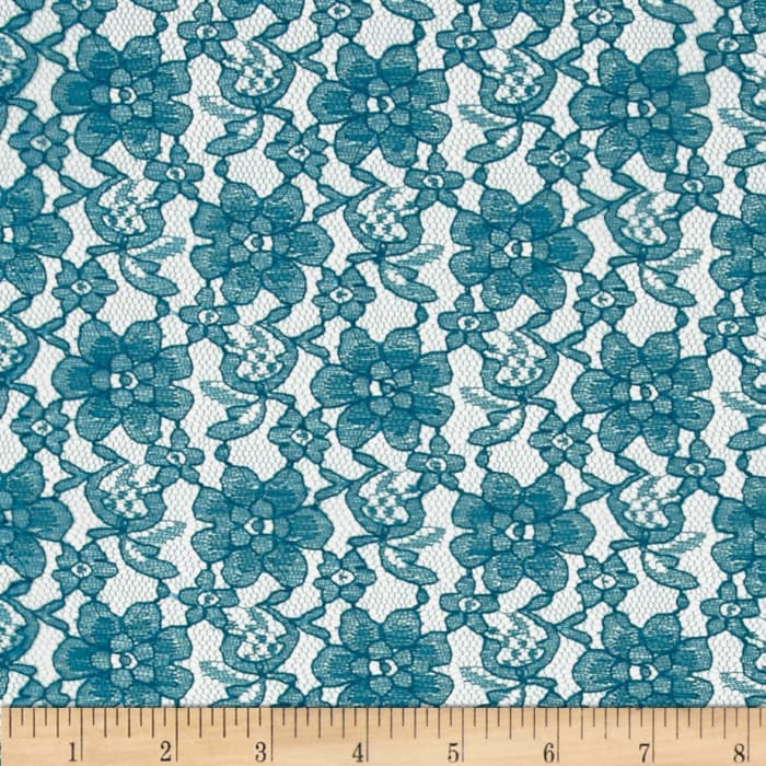 Raschelle Lace Teal