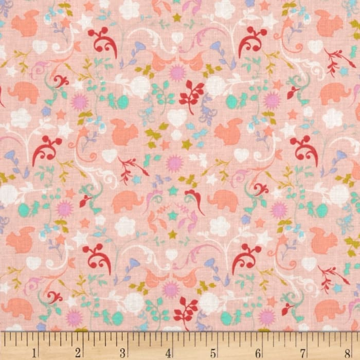 Michael Miller Cynthia Rowley Oh Baby Charms Creamsicle