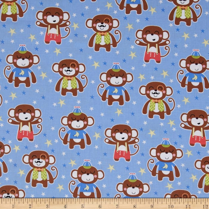 Michael Miller It's A Boy Thing Chimp Daddy Sky