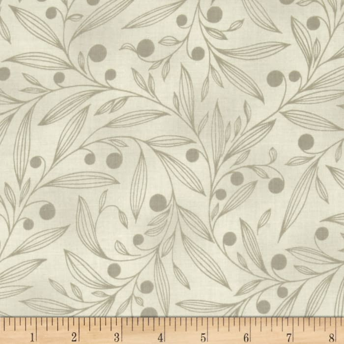Flutter Berry Branches Taupe