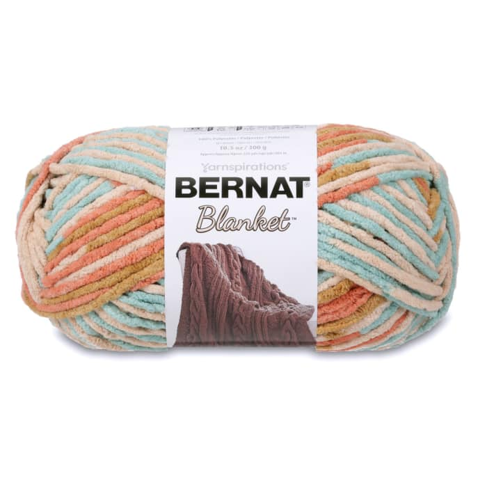 Bernat Blanket Big Ball Yarn (10136) Sailors Delight
