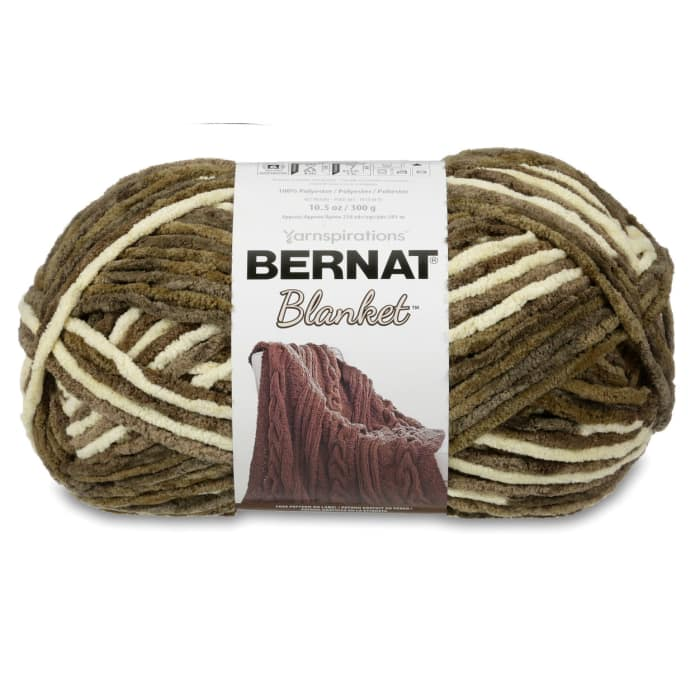 Bernat Blanket Big Ball Yarn (10107) Gathering Moss