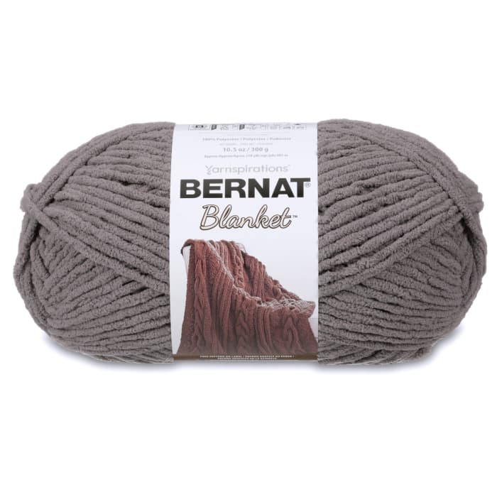 Bernat Blanket Big Ball Yarn (10044) Dark Grey