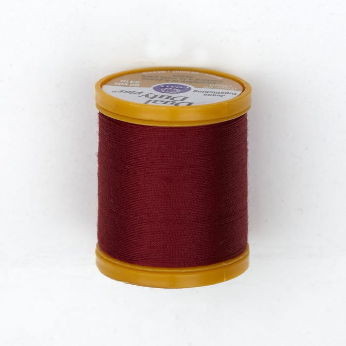 Dual Duty Plus Jeans & Topstitching Thread 60 Yds. Barberry Red