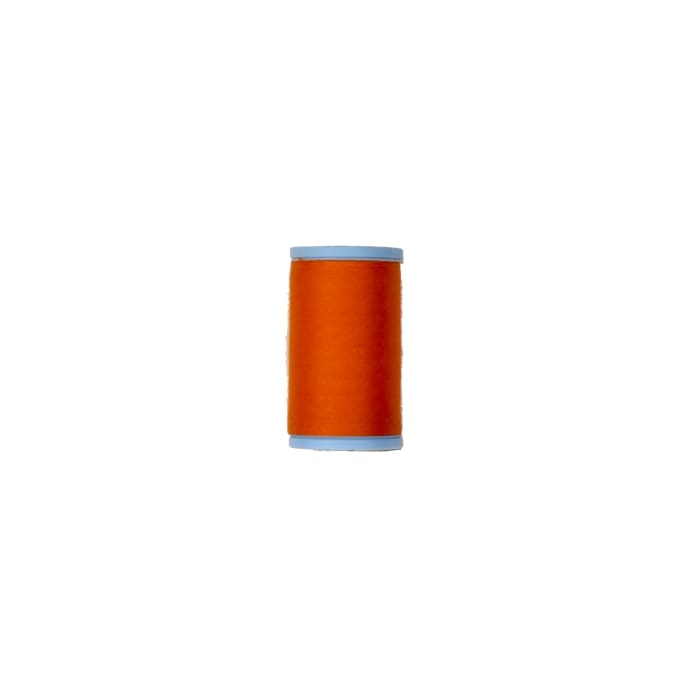 Coats & Clark Cotton Covered Quilting & Piecing Thread 500 Yds. Tangerine
