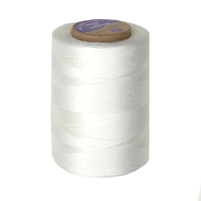 Cotton Machine Quilting Thread 1200 YD Winter White