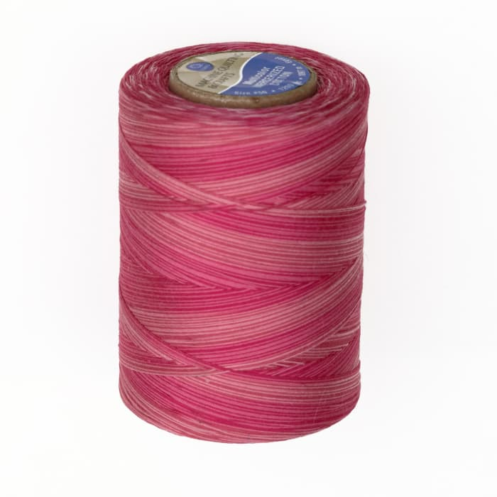 Cotton Machine Quilting Multicolor Thread 1200 YD Pink Passion