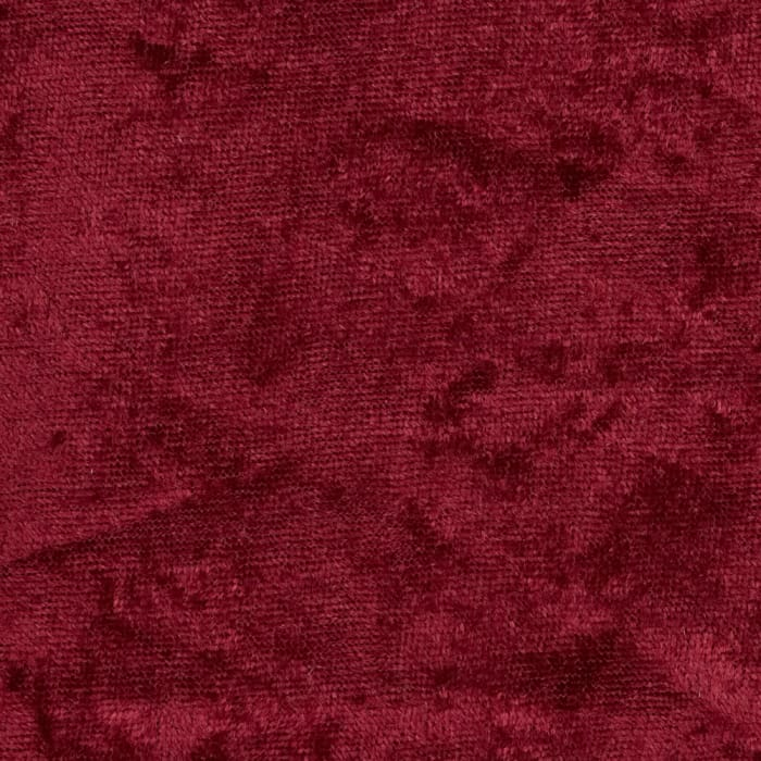 Crushed Panne Velour Burgundy