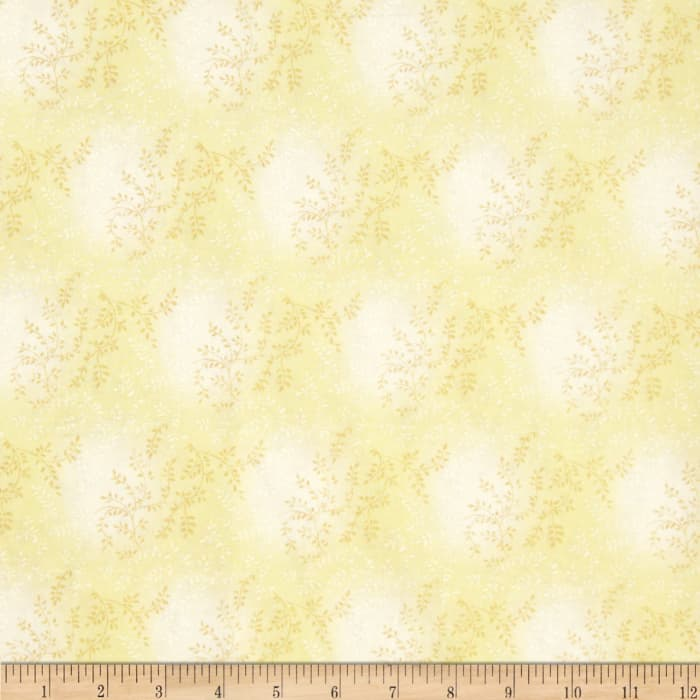 "108"" Wide Quilt Back Tonal Vineyard Ivory"