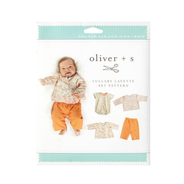 Oliver + S Lullaby Layette Pattern Size 0-24m