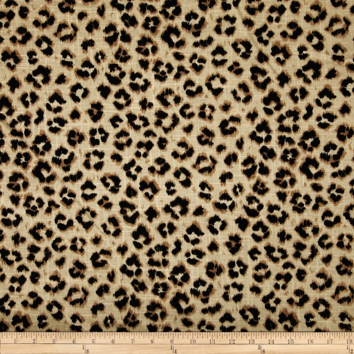 Jaclyn Smith 02100 Animal Print Blend Leopard