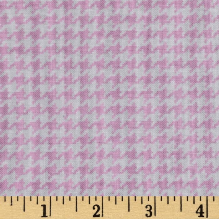 Michael Miller Tiny Houndstooth Rose