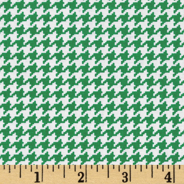 Michael Miller Tiny Houndstooth Spearmint