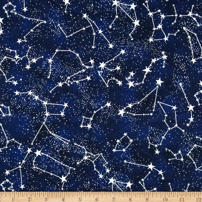 Timeless Treasures Glow In The Dark Constellations