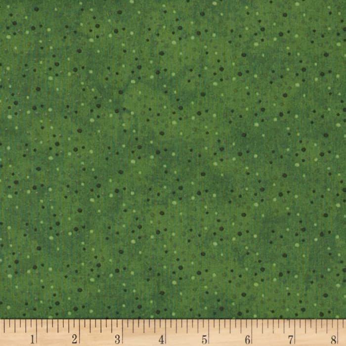 Essentials Petite Dot Green