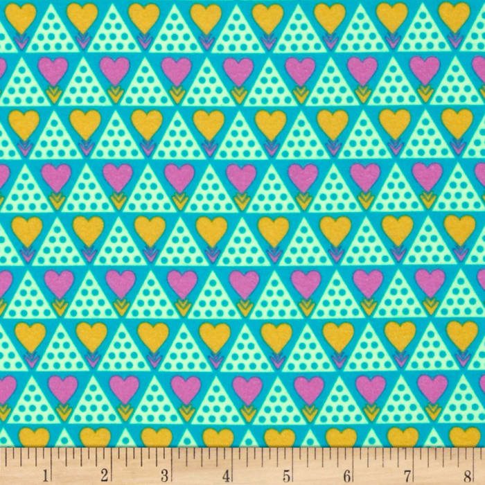 Anna Maria Horner Pretty Potent Flannel Family Unit Citrus