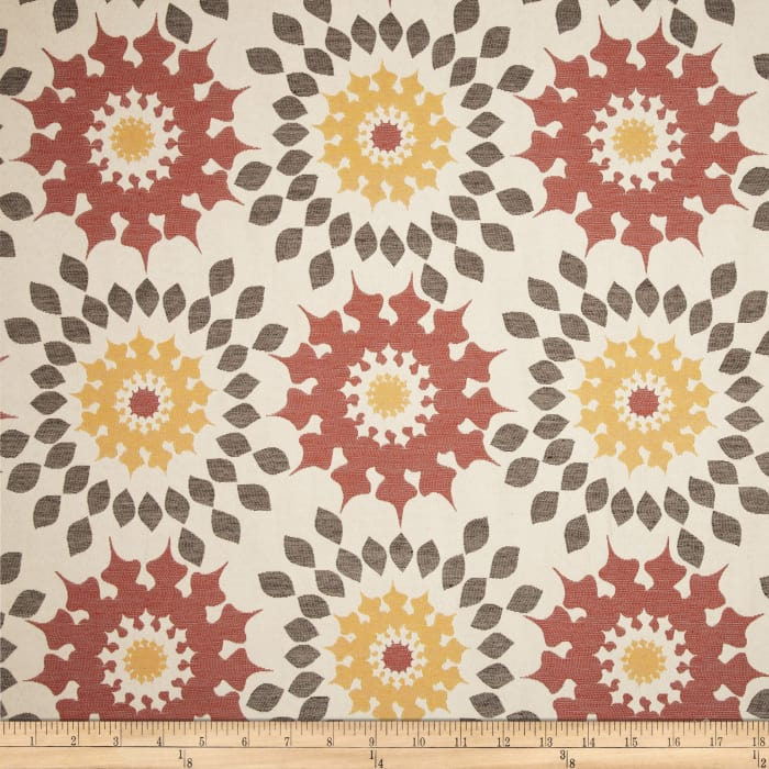 Duralee Home Market Upholstery Jacquard Spice
