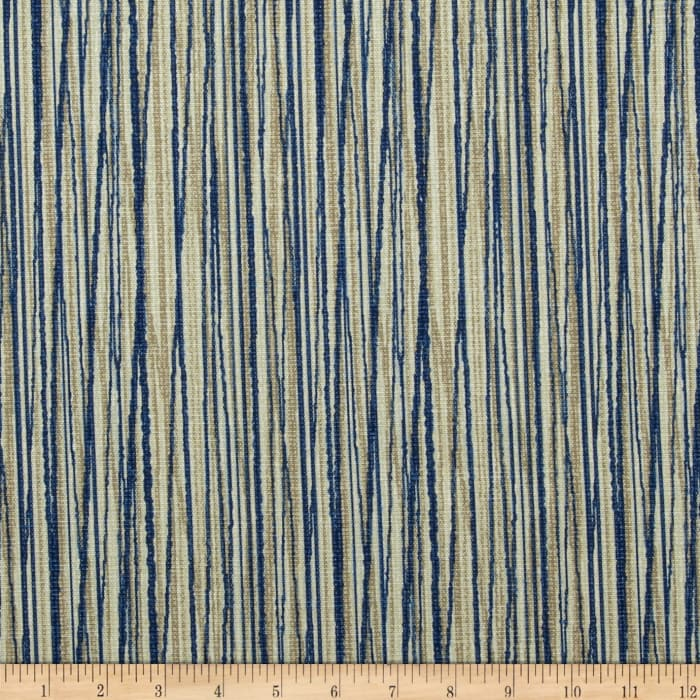 Magnolia Home Fashions Laurel Bay Stripe Cove Blue