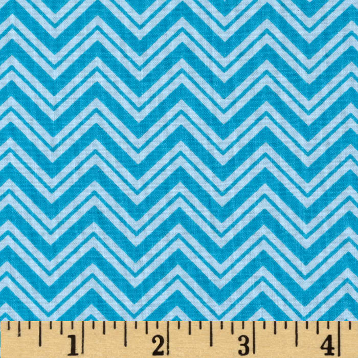 Child's Play Chevron Blue/Blue