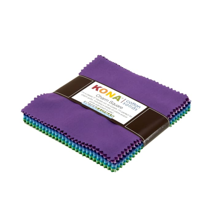 "Kona Cotton Sunset 5"" Charm Squares"